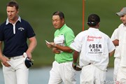 2010年 ブリヂストンオープンゴルフトーナメント 2日目 小田孔明