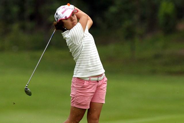 2010年 サイム・ダービー LPGA マレーシア 初日 宮里美香 初日を5バーディ、ノーボギーの好スタートを切った宮里美香(Stanley Chou/Getty Images)