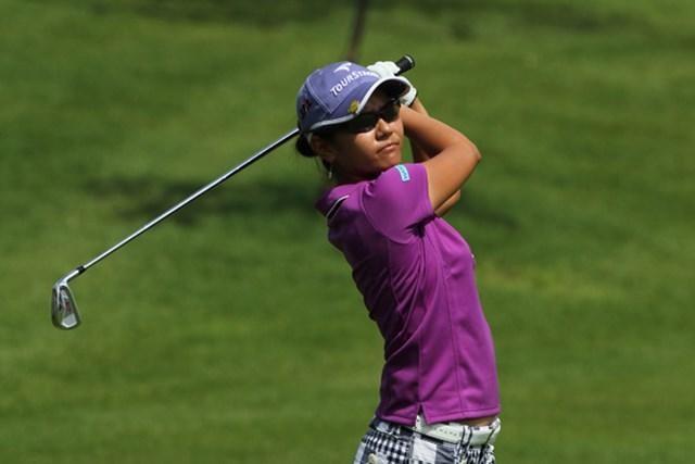 2010年 サイム・ダービー LPGA マレーシア 初日 宮里藍 「内容は悪くない」初日5オーバーと沈む宮里藍(Stanley Chou/Getty Images)