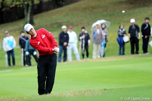 2010年 マイナビABCチャンピオンシップゴルフトーナメント 初日 キム・キョンテ 「全て良い」と話すキム・キョンテがノーボギーで単独3位につけた