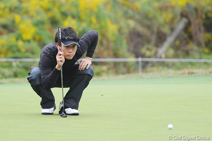 またまた強いアマチュアの登場や。それも、またまた遼君の1年先輩やて。杉並学園恐るべし・・・。6位T 2010年 マイナビABCチャンピオンシップゴルフトーナメント 初日 櫻井勝之