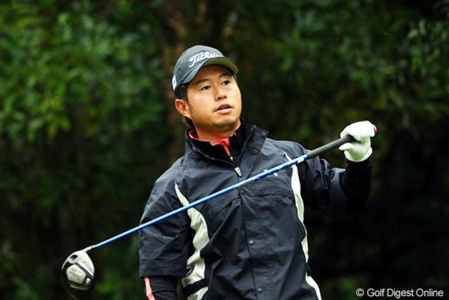 2010年 マイナビABCチャンピオンシップゴルフトーナメント 初日 松村道央 東海クラシックのVで完全に覚醒やネ。先週のブリヂストンも2位やし、自信っていうのが人を清澄さるんやなァ。いやホンマ。6位T