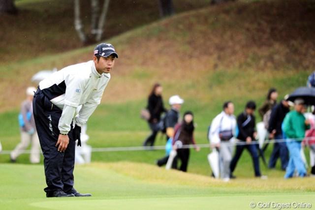 2010年 マイナビABCチャンピオンシップゴルフトーナメント 初日 池田勇太 遼君と反対の1番スタートやったから、けっこうのんびりとプレーできたんとちゃう?24位T