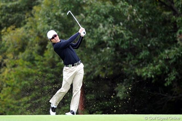 2010年 マイナビABCチャンピオンシップゴルフトーナメント 2日目 キム・キョンテ 強いワァ。隙がないんやなァ。日本アマ2連覇したときに「只者やない」と思うたけど・・・。2位T