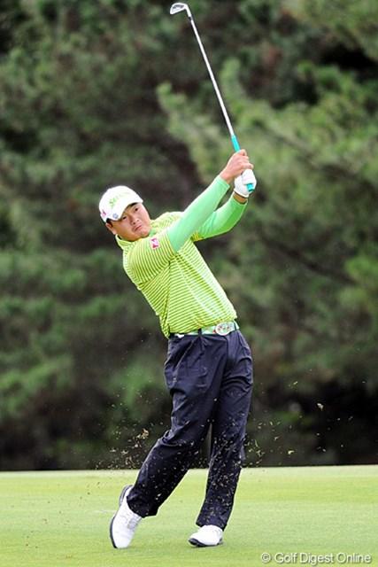 2010年 マイナビABCチャンピオンシップゴルフトーナメント 2日目 小田孔明 三宮に強いんはホンマモンやなァ。最初は冗談で言うてたんやけど、ホンマに三宮(神戸)の鬼やないか!5位