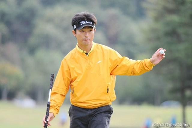 2010年 マイナビABCチャンピオンシップゴルフトーナメント 2日目 市原弘大 やるやないかアジアの若大将!彼、アジアンツアーのメンバーでもあるんですワ。若いのに立派でしょ!