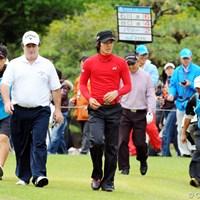 24年間日本ツアーで戦ったC.パリーがあと1日でツアーを撤退する 2010年 マイナビABCチャンピオンシップゴルフトーナメント 3日目 クレイグ・パリー&石川遼