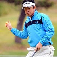 本大会開催コースのABCゴルフクラブ所属。連日しぶとくスコアをまとめて面目躍如の20位T 2010年 マイナビABCチャンピオンシップゴルフトーナメント 3日目 中川勝弥