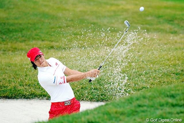 2010年 マイナビABCチャンピオンシップゴルフトーナメント 最終日 石川遼 後半も2つ伸ばして、17番でトップタイに並んだんやけど・・・。