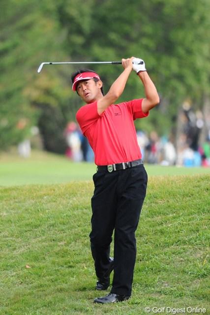 2010年 マイナビABCチャンピオンシップゴルフトーナメント 最終日 鈴木亨 そいでもってお父さんは本日4つもスコアを伸ばしました!家族愛ってすばらしい!6位T