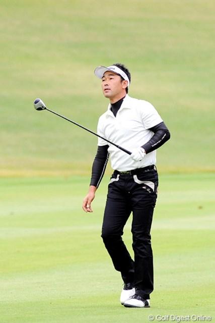 2010年 マイナビABCチャンピオンシップゴルフトーナメント 最終日 久保谷健一 韓流選手2人に囲まれてのラウンドやったけど、しっかりスコアを伸ばしはりました。さすが!11位