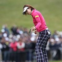 11個のバーディは、LPGAツアー最多記録タイのおまけつき。 2010年 樋口久子IDC大塚家具レディス 最終日 森田理香子