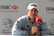 2010年 WGC HSBCチャンピオンズ 事前 リー・ウェストウッド