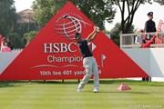 2010年 WGC HSBCチャンピオンズ 初日