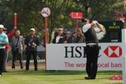 2010年 WGC HSBCチャンピオンズ 初日 薗田峻輔