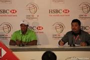 2010年 WGC HSBCチャンピオンズ 初日 タイガー・ウッズ
