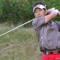 気温10度で半袖!50歳の高松厚が若さ全開で2位タイの好スタート 2010年 富士フイルムシニアチャンピオンシップ 初日 高松厚