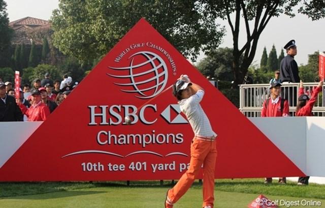 2010年 WGC HSBCチャンピオンズ 初日 石川遼 初日をイーブンパー35位タイで終えた石川遼