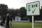 2010年 WGC HSBCチャンピオンズ 3日目 パッティンググリーン
