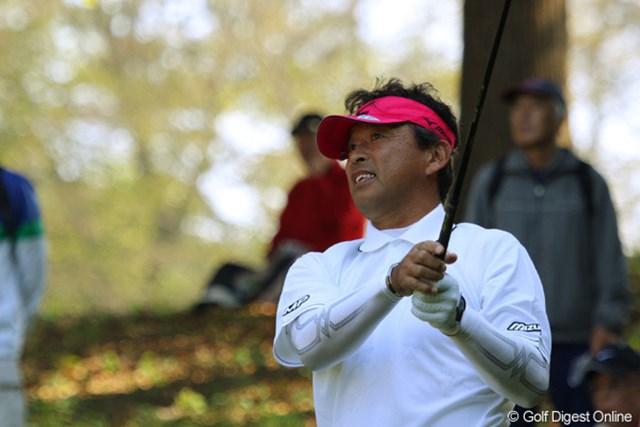 2010年 富士フイルムシニアチャンピオンシップ 最終日 平石武則 4バーディ、ノーボギーで20位タイから4位タイに食い込んだ平石武則