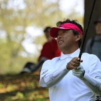 4バーディ、ノーボギーで20位タイから4位タイに食い込んだ平石武則 2010年 富士フイルムシニアチャンピオンシップ 最終日 平石武則