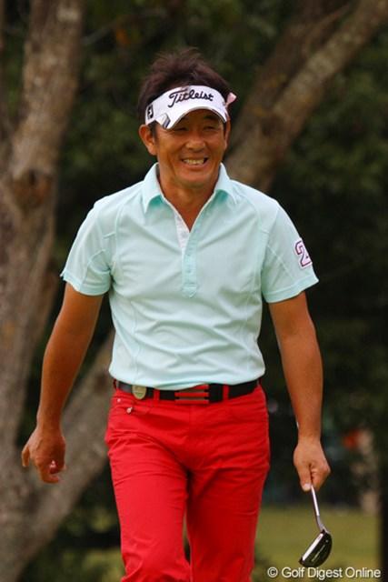 2010年 富士フイルムシニアチャンピオンシップ 最終日 高松厚 3日間半袖で戦いました!安定したゴルフで4位タイの高松厚