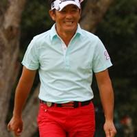 3日間半袖で戦いました!安定したゴルフで4位タイの高松厚 2010年 富士フイルムシニアチャンピオンシップ 最終日 高松厚