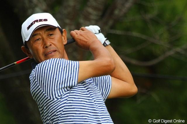 2010年 富士フイルムシニアチャンピオンシップ 最終日 高橋勝成 2バーディ、1ボギーと堅実なゴルフを見せた高橋勝成