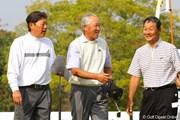 2010年 富士フイルムシニアチャンピオンシップ 最終日 青木功、尾崎健夫、飯合肇