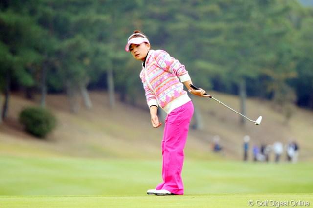 ショットの精度は戻らず、12位タイに後退して3日間を終えた有村智恵