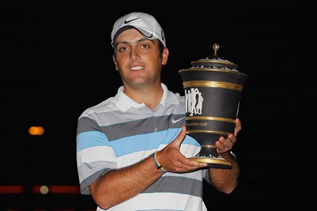 2010年 WGC HSBCチャンピオンズ 最終日 フランチェスコ・モリナリ 世界ランキング1位のL.ウェストウッドを振り切って栄冠を掴んだF.モリナリ(Scott Halleran /Getty Images)