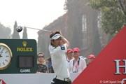 2010年 WGC HSBCチャンピオンズ 最終日 藤田寛之