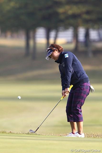 2010年 伊藤園レディスゴルフトーナメント 初日 綾田紘子 伊藤園所属、5オーバーの62位タイスタート。