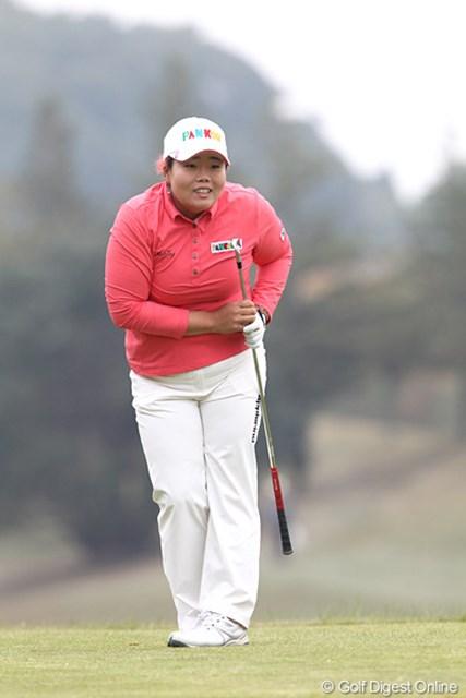 2010年 伊藤園レディスゴルフトーナメント 最終日 アン・ソンジュ 終わってみれば4位タイフィニッシュです。