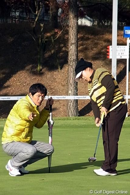 2010年 LPGAツアーチャンピオンシップリコーカップ アン・ソンジュ 開幕戦優勝から一気に走りぬけたアン・ソンジュ!通称、アンちゃん(撮影:リコー CX4)