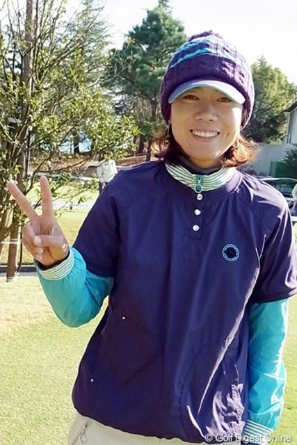 2010年 LPGAツアーチャンピオンシップリコーカップ 李知姫 NEC軽井沢で優勝は果たしたが、本来の実力からするともっと上を期待します!(撮影:リコー CX4)