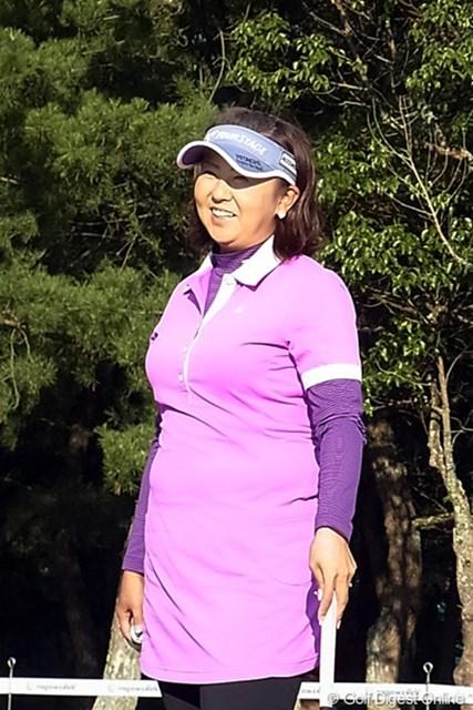 2010年 LPGAツアーチャンピオンシップリコーカップ 佐伯三貴 シーズン終盤にツアー2勝目を飾った佐伯三貴。勝負強さはさすが(撮影:リコー CX4)