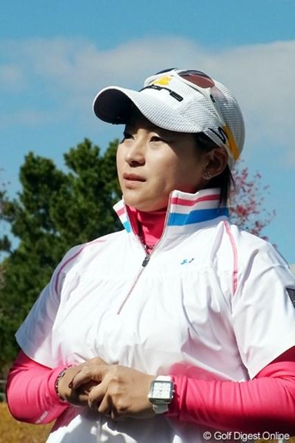 2010年 LPGAツアーチャンピオンシップリコーカップ 馬場ゆかり 今シーズンのMIP!真摯な姿が応援したくなる馬場ゆかり(撮影:リコー CX4)