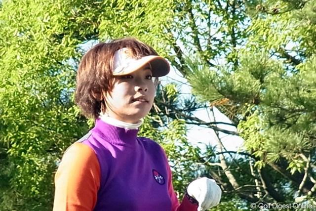 2010年 LPGAツアーチャンピオンシップリコーカップ 森田理香子 フル参戦2年目にしてツアー初優勝を果たした森田理香子(撮影:リコー CX4)