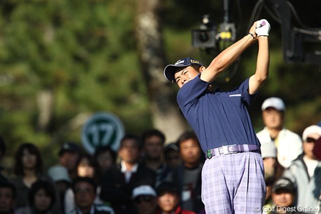 2010年 ダンロップフェニックストーナメント 3日目 池田勇太 2位に3打差をつけて首位をキープしている池田勇太