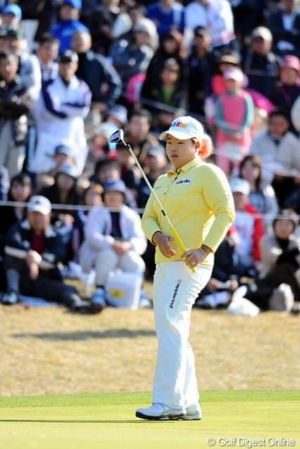 2010年 大王製紙エリエールレディスオープン 2日目 アン・ソンジュ 20位タイに後退したアン・ソンジュだが、賞金女王への絶対的優位は変わらない