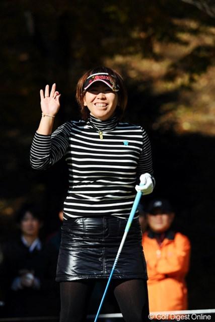 2010年 大王製紙エリエールレディスオープン 最終日 吉田弓美子 14番までに2つスコアを伸ばしてシード権をつかみかけたんやけど・・・。10位T