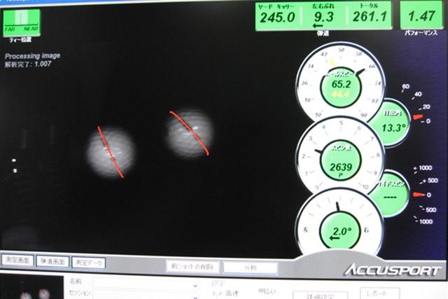 マーク試打 ミズノ MP CRAFT425+ ドライバー NO.5 弾道計測してみると・・・打ち出し角が低くキャリーとランで飛距離を稼ぐドライバーだ