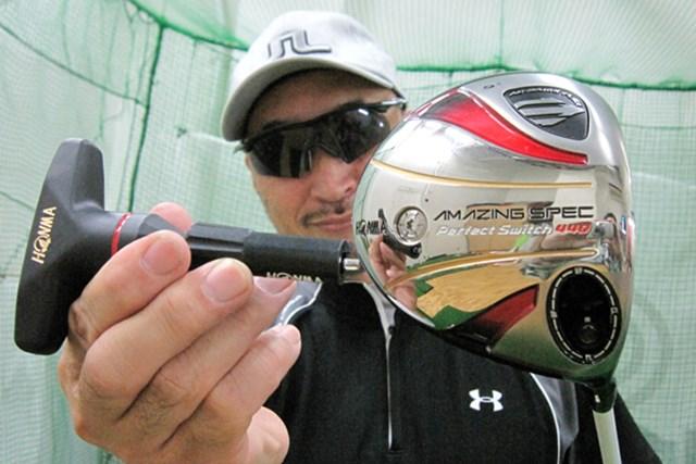 マーク金井が「本間ゴルフ パーフェクトスイッチ440」を徹底検証