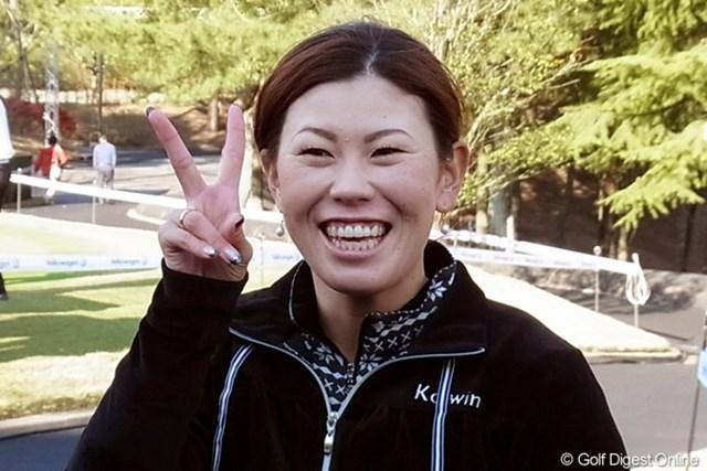 2010年 LPGAツアーチャンピオンシップリコーカップ事前情報 竹末裕美 2003年以来、久々のリコーカップ出場! 竹末裕美(撮影:リコー CX4)