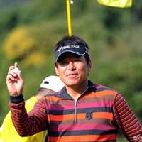 なんか気分良さそうに、楽しそうにラウンドしてはりましたでェ。これがホンマのジョー機嫌?73位T 2010年 カシオワールドオープンゴルフトーナメント初日 尾崎直道
