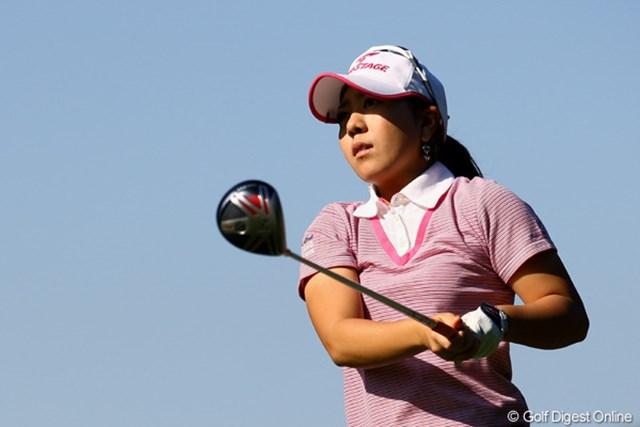 2010年 LPGAツアーチャンピオンシップリコーカップ 2日目 宮里美香 2日目を終えて一歩リードの宮里美香。2バーディ1ボギーと安定したゴルフを見せた