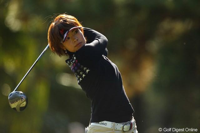 2010年 LPGAツアーチャンピオンシップリコーカップ 2日目 森田理香子 ダボあり、トリあり・・・昨日のゴルフはどこへやら。