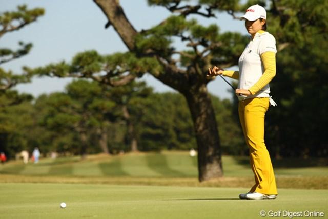 2010年 LPGAツアーチャンピオンシップリコーカップ 2日目 全美貞 バーディなしで79。急降下です。