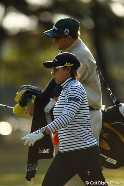 2010年 LPGAツアーチャンピオンシップリコーカップ 2日目 馬場ゆかり もう緊張の糸が切れてしまったのでしょうか・・・今日もまさかの6オーバーでした。